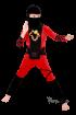 """Карнавальный костюм """"Ниндзя красный"""", р. 30, 34, 36, 5-10 лет, 110-140 см"""