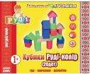 Кубики Руди-цвет (20дет)