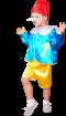 """Карнавальный костюм """"Буратино(атлас)"""", 104-128 см. 4-7лет, р. 30, 34"""