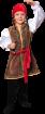 """Карнавальный костюм """"Джек Воробей"""", 104-140 см, 4-10 лет, р. 30, 32, 34, 36"""