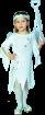 """Карнавальный костюм """"Фея Зима"""", 104-110 см, 4-5 лет, р.30"""