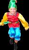 """Карнавальный костюм """"Гном атлас"""", 122-128 см,  7-8 лет, р. 34"""