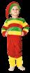 """Карнавальный костюм """"Гном (цветная полоска)"""", 92-122 см, 2-6 лет, р. 28, 30, 32"""