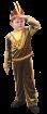 """Карнавальный костюм """"Индеец"""", 104-140 см, 4-10 лет, р. 30, 34, 38"""