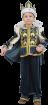 """Карнавальный костюм """"Король (с мантией)"""", 104-140 см, 4-10 лет, р. 30, 32, 34, 3"""