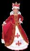 """Карнавальный костюм """"Королева (платье со шлейфом)"""", 104-140 см, 4-10 лет, р. 30,"""
