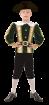 """Карнавальный костюм """"Корсар"""", 92-128 см, 4-7 лет, р. 28, 30, 34"""