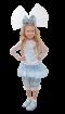 """Карнавальный костюм """"Кукла Мальвина"""", 104-128 см, 4-7 лет, р. 30, 34"""
