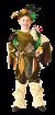 """Карнавальный костюм """"Леший"""", 104-140 см, 4-10 лет, р. 30, 34, 38"""