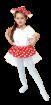 "Карнавальный костюм ""Мухоморушка"", 92-122 см, 2-6 лет, 28, 30, 32"