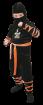 """Карнавальный костюм """"Ниндзя"""", 104-110 см, 4-5 лет, р. 30"""