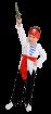 """Карнавальный костюм """"Пират"""", 104-140 см, 4-10 лет, р. 30, 34, 38"""