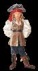"""Карнавальный костюм """"Пират Джек Воробей"""", 104-140 см, 4-10 лет, р. 30, 32, 34, 3"""