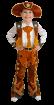 """Карнавальный костюм """"Шериф Вуди"""", 104-128 см, 4-7 лет"""