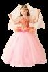 """Карнавальный костюм """"Сказочная фея (платье с фижмами)"""", 104-140 см, 4-10 лет, р."""