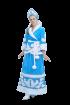 """Карнавальный костюм """"Снегурочка (меховой орнамент)"""", 48 размер"""