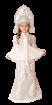 """Карнавальный костюм """"Снегурочка Морозко (длинная юбка)"""", 116-140 см 6-10 лет"""