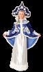 """Карнавальный костюм """"Снегурочка (с кокошником, парч. Юбка)"""", 44-46 размер"""