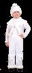 """Карнавальный костюм """"Снежный Кай"""", 116-122 см, 6 лет, р. 32"""