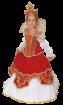 "Карнавальный костюм ""Царица"", 104-140 см, 4-10 лет, р. 30, 34, 36"