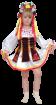"""Карнавальный костюм """"Украиночка"""", 104-128 см, 4-7 лет, р. 30, 34"""