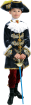 """Карнавальный костюм """"Вельможа с аппликацией"""", 104-140 см, 4-10 лет, р. 30, 34, 3"""