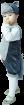 """Карнавальный костюм """"Волк"""", 92-104 см, 2-3 года"""