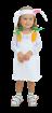 """Карнавальный костюм """"Зайчик девочка"""", 92-104 см, 2-3 года, р. 28, 30"""