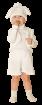"""Карнавальный костюм """"Зайчик (велюр)"""", 104-116 см, 4-6 лет, р. 30, 32"""