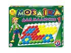 Мозаика для малышей №1, 80 деталей, арт.2063, Технок, Украина