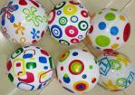 Мяч резиновый 6 цветов, 60грамм