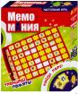 """Настольная игра на развитие памяти """"Мемо мания"""""""