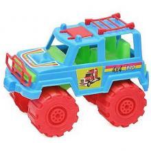 Машинка джип цветной, Kinderway