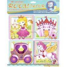 Декорации для детской комнаты Принцесса (RDS-505 Mota)
