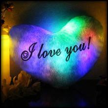 Светящаяся Подушка – Сердце «I love You»