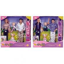 Набор «Счастливая семья» 4 куклы  Defa Lucy