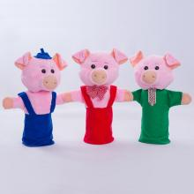 "Куклы-рукавички ""Три поросенка"""