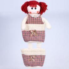 Кукла подвеска с двумя кармашками