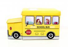 Детский пуф  Автобус желтый, Украина