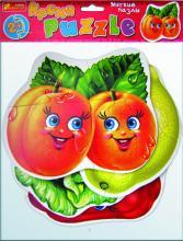 """Мягкие пазлы """"Овощи, фрукты"""""""