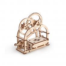 """3D конструктор """"Механическая шкатулка"""", деревянный, механическая модель"""