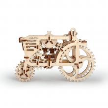 """3D конструктор """"Трактор"""", деревянный, механическая модель"""