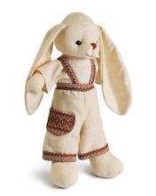 Кукла мягконабивная Зайчик Степанко большой, Левеня