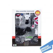 Модель для сборки «Полицейский мотоцикл» DREAM MAKERS, Арт. 10784-3088E