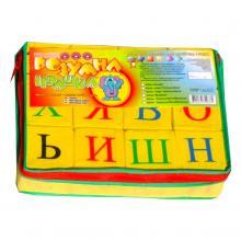 """Набор мягких кубиков """"Буквы. Русский алфавит"""" — 12 кубиков, Розумна іграшка"""