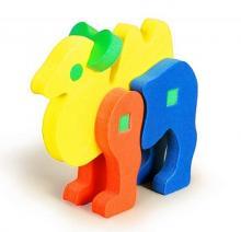 Мягкие 3D пазлы-Верблюд
