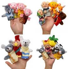 Пальчиковый кукольный театр (7 сказок)