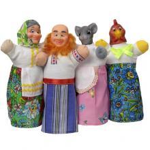 """Домашний кукольный театр """"КУРОЧКА РЯБА"""" (4 персонажа)"""