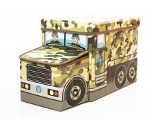 Детский пуф Военная машина, Украина