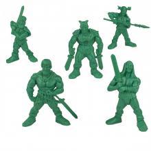 "Набор воинов ""Дивизион Шервуд"" без коробки (5 воинов / цвет зеленый), Технолог"